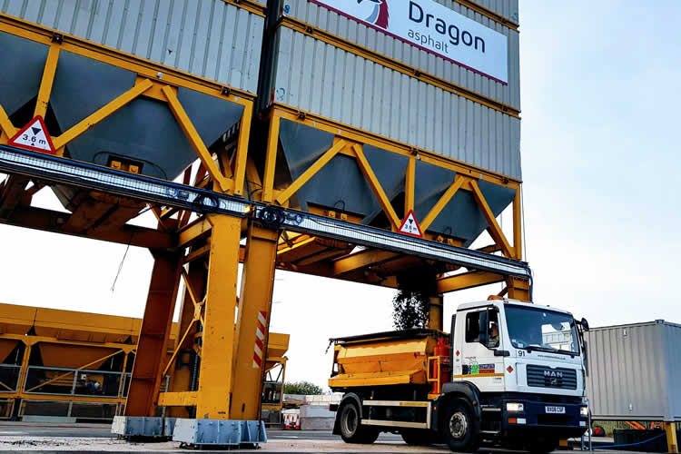 Dragon Asphalt opens first site at Port of Newport